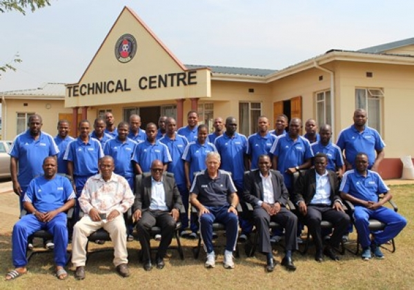 THE FIFA MA BASIC GOALKEEPING COURSE OFFICIALLY OPENED