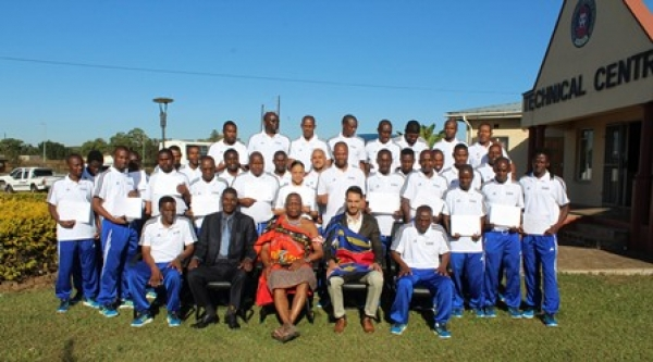 THE FIFA MA PHYSICAL FITNESS COACHING COURSE OFFICIALLY CLOSED