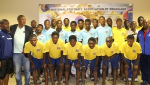 U20 MEN'S NATIONAL TEAM OFF TO KITWE, ZAMBIA