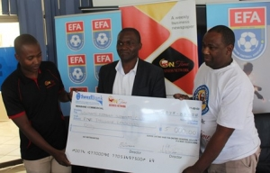 ESWATINI FOOTBALL ASSOCIATION ACKNOWLEDGES ONTIME INVESTMENT
