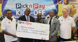 PICK N PAY SPONSORS THE PRIMARY SCHOOLS' U15S FOOTBALL DEVELOPMENT PROGRAMME