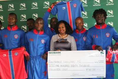 NEDBANK IS USING MONEY DIFFERENT THROUGH FOOTBALL