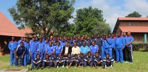 JUNIOR MEN'S NATIONAL TEAM OFF TO DURBAN