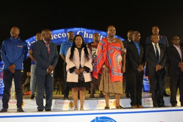 EFA ACKNOWLEDGES THE PRESENCE OF HIS MAJESTY KING MSWATI III DURING THE EPTC CHARITY CUP TOURNAMENT