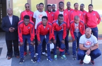 EFA PRESIDENT WISHES MBABANE SWALLOWS GOOD LUCK