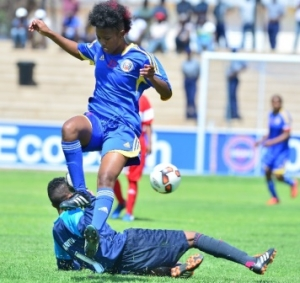 SITSEBE SAMHLEKAZI TOO STRONG FOR MAURITIUS