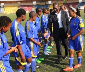 SITSEBE SAMHLEKAZI FOR  THE TOTAL WOMEN'S AFRICA CUP OF NATIONS QUALIFIERS