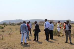 SITE INSPECTION OF THE NFAS'S PROJECT AT KALANGA