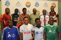 SMVAF PRESENTS SOCCER KITS TO THE QUARTER FINALISTS